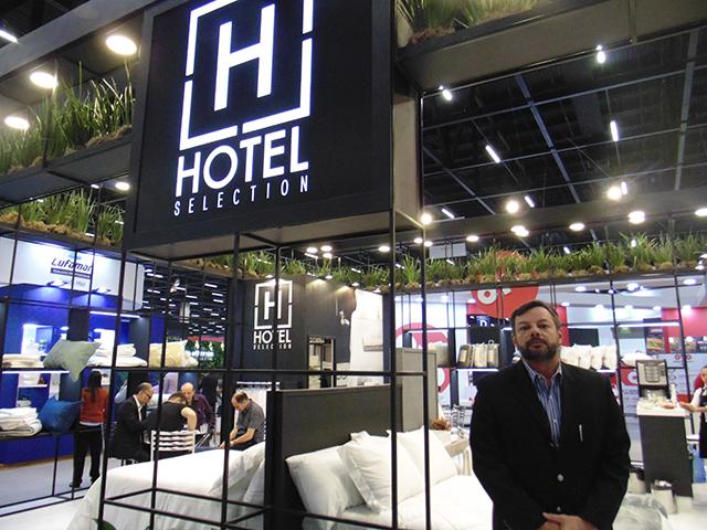 Camesa lança travesseiro, lençol e toalha para a hotelaria na Equipotel 2019