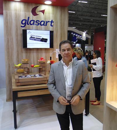 Glasart lança na Equipotel três novas soluções para buffets de hotéis