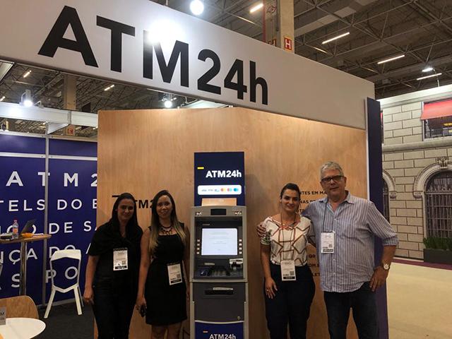 ATM24h supera expectativas em participação na Equipotel