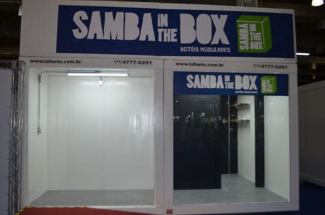 Samba Hotéis apresenta hotel em containers na Hospitality Business Fair