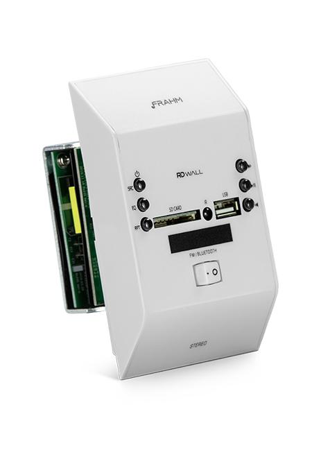 Audiofrahm Eletroeletrônicos lança novo modelo de amplificador de parede