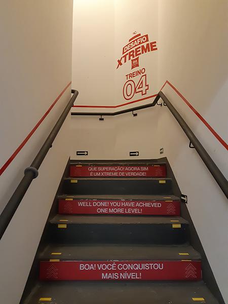 ibis Styles São Paulo Barra Funda lança série de exercícios nas escadas