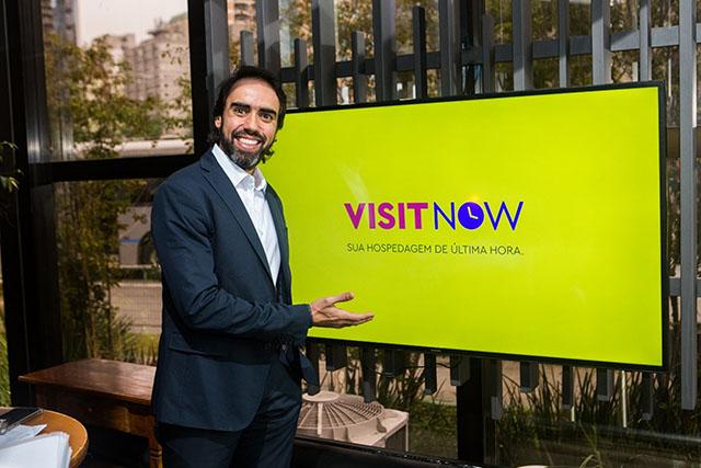 Grandes redes de hotéis aderem o VisitNow