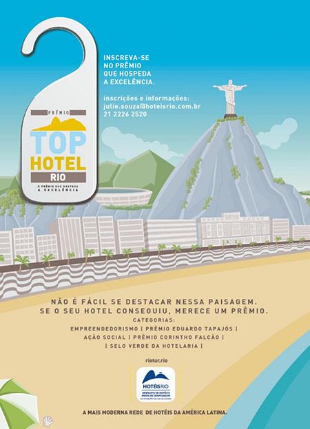 Inscrições para premiação Top Hotel Rio terminam no final de outubro