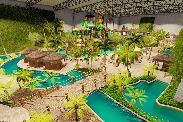Tauá inaugura o 1º Parque Aquático Indoor do Brasil na véspera do Dia das Crianças