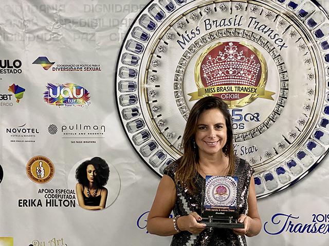 Accor participa do Miss Brasil Transex