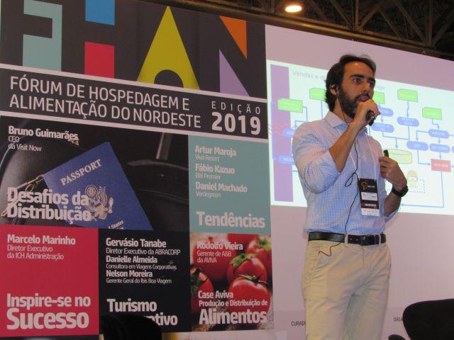 Bruno Guimarães, da VisitNow, falou sobre desafios da distribuição na 2ª HFN