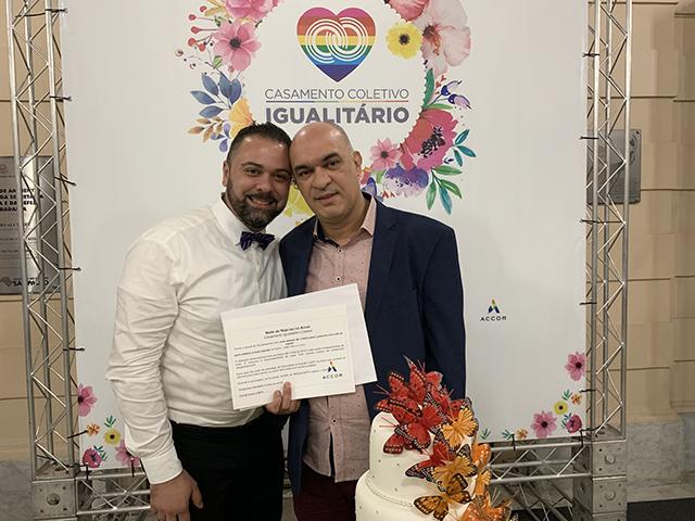 Accor patrocina casamento coletivo igualitário em São Paulo