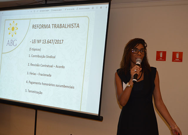 Direito trabalhista é debatido no 4º encontro Nacional de Gestão e hospitalidade