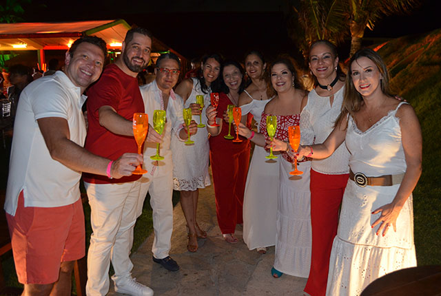 Festa do vermelho e branco encerrou a 7ª edição Top Seller Event da RCI Brasil