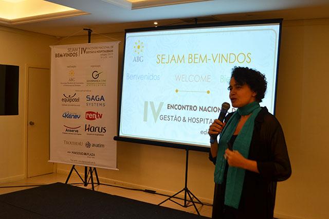 Maria José Dantas abre o 4º Encontro Nacional de Gestão e Hospitalidade