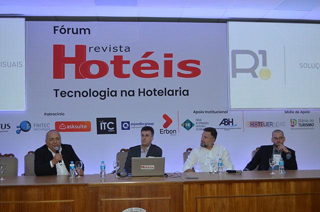 Experiências inovadoras de tecnologia para hotéis são debatidas em Fórum