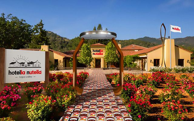 Nutella anuncia hotel na Califórnia (EUA) para ação de Marketing entre fãs da marca