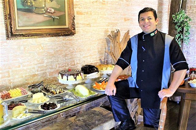 Pousada Pedras e Sonhos (MG) recebe novo Chef Confeiteiro