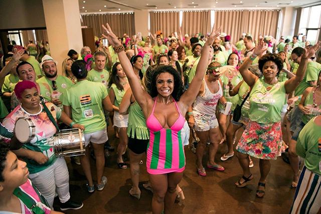 Vila Galé Rio de Janeiro realiza Feijoada pré-carnavalesca da Mangueira