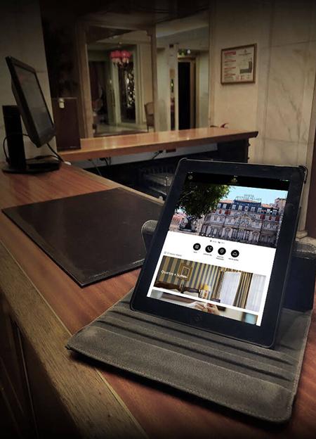 Hotel Avenida Palace investe em interação digital com os hóspedes