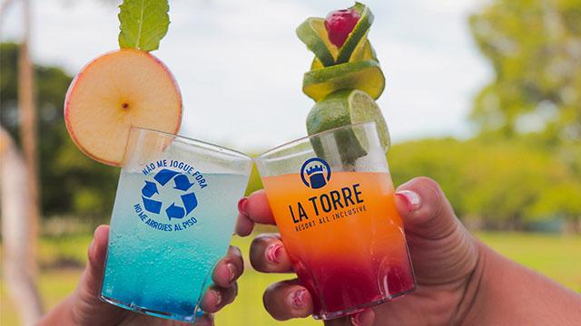La Torre Resort (BA) reduz consumo de plástico