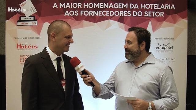 Entrevista com Luiz Roberto Magrin Filho, Diretor geral da Harus Amenities