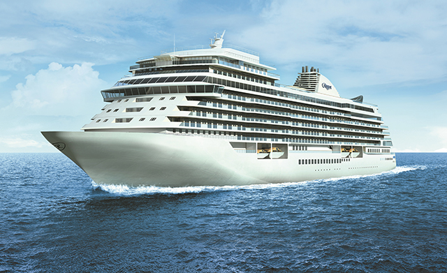 Regent Cruises entrega luxuoso navio Seven Seas Splendor