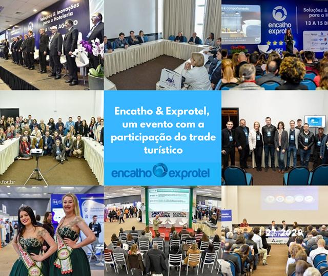 Encatho & Exprotel será realizado em Santa Catarina no mês de agosto