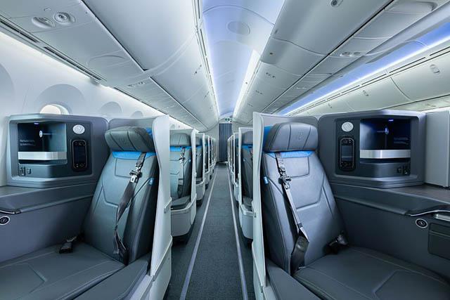 Boeing 787-9 da Air Europa tem nova business class