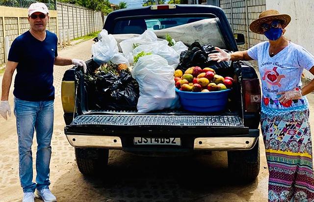 La Torre Resort (BA) doa cerca de duas toneladas de alimentos para entidades