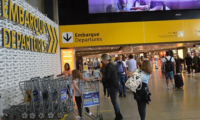 Aeroporto de Guarulhos suspende operação no Terminal 1
