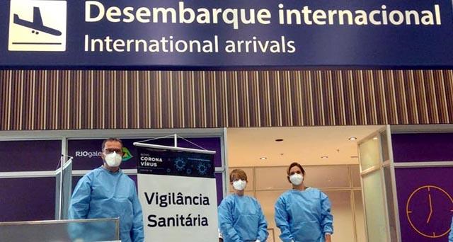 Aeroporto do Galeão (RJ) tem ações contra Covid-19