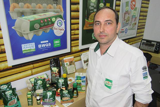 Linha de alimentos orgânicos é destaque da Korin na 2ª edição da Anufood em SP