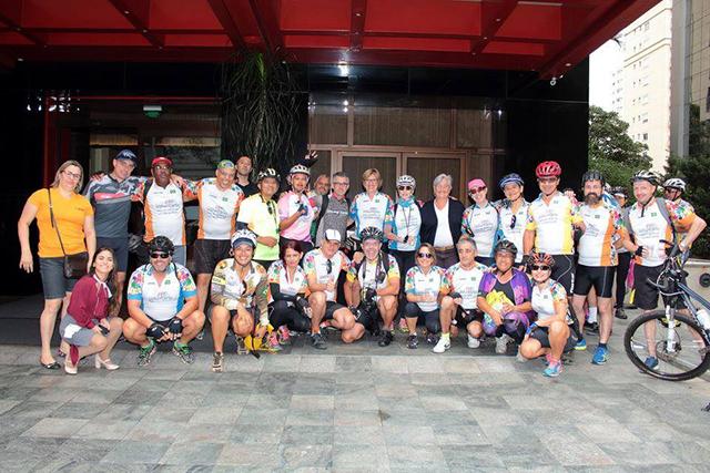 InterContinental São Paulo recebe primeiro Pedal Voluntário do ano