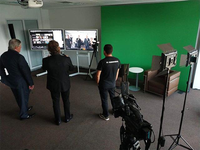 Grupo R1 lança sala de transmissão ao vivo no WTC Events Center