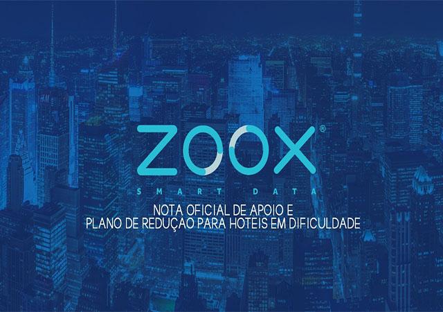 Zoox lança plano de apoio para hotéis em dificuldade em razão da pandemia do coronavírus
