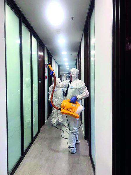 Limpidus oferece serviço de desinfecção para combate ao COVID-19