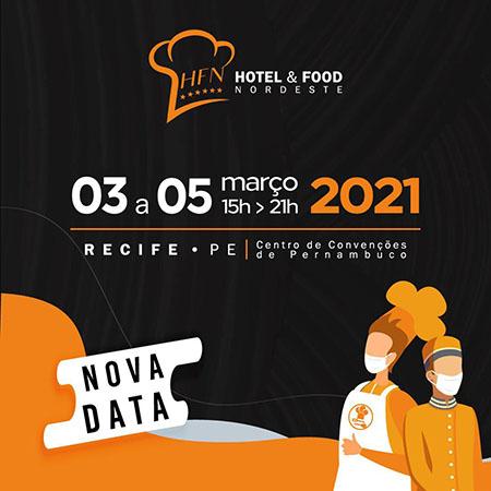 HFN – Hotel & Food Nordeste adia a terceira edição para 2021