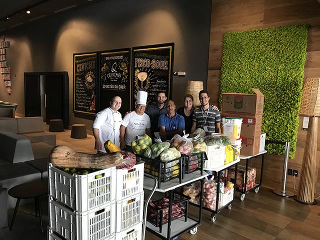 COVID-19: Atrio e hotéis fazem doação de alimentos e enxoval