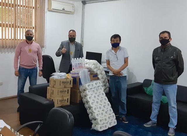 Hotel Century Paulista (SP) faz doação de itens de higiene