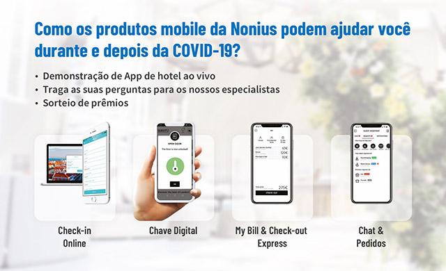 """Webinar da Nonius mostra passo a passo da """"Jornada Segura ao Hóspede"""""""