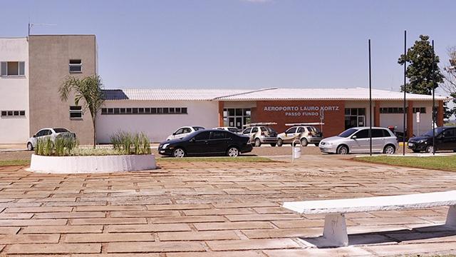 Avançam obras de ampliação do aeroporto de Passo Fundo (RS)