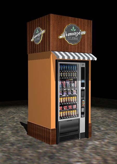 Armazém Fit Store investe em Vending Machines para a venda de produtos naturais e saudáveis