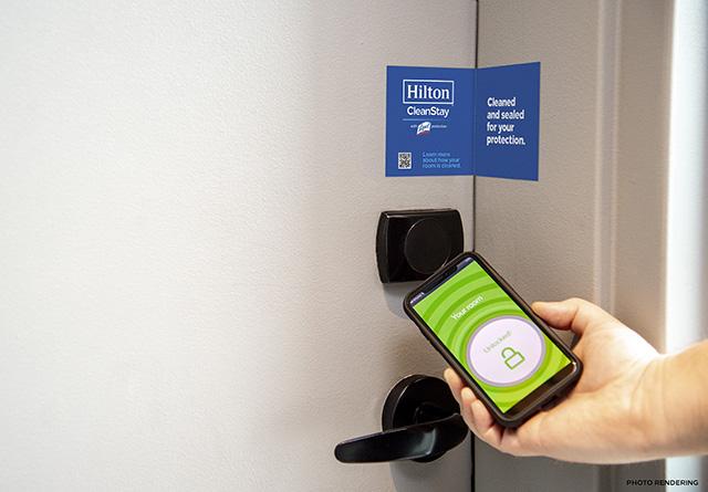 Hilton define novo padrão mundial de limpeza
