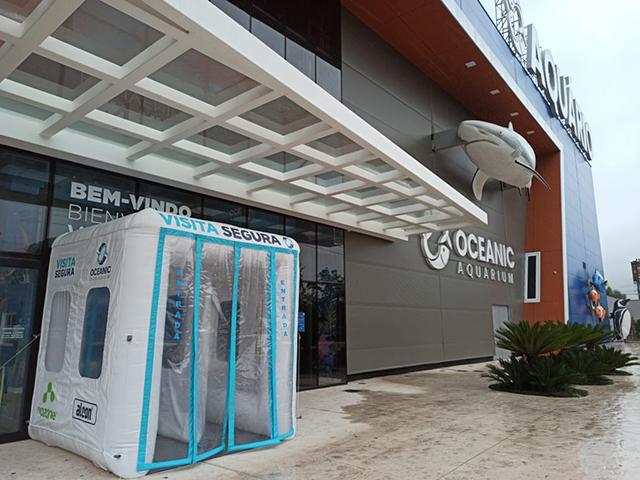 Oceanic Aquarium (Balneário Camboriú-SC) é novo associado SINDEPAT