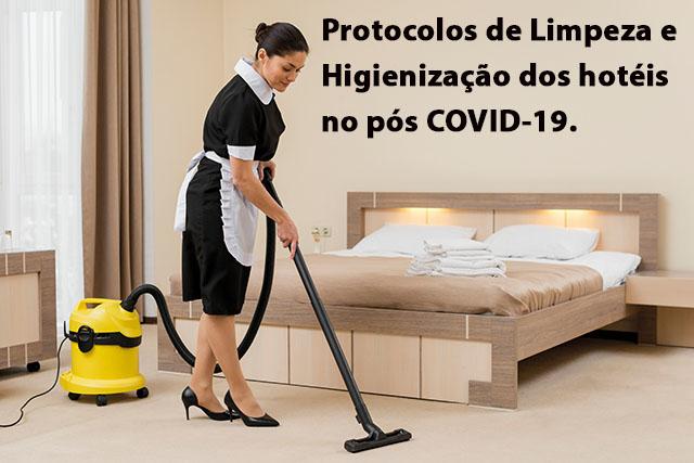Protocolos de limpeza, higienização e operação de hotéis e restaurantes no pós COVID-19