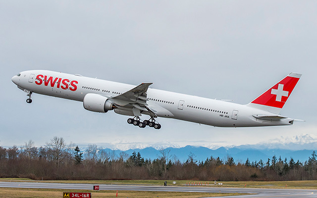 Swiss retorna com voo São Paulo-Zurique em 3 de julho