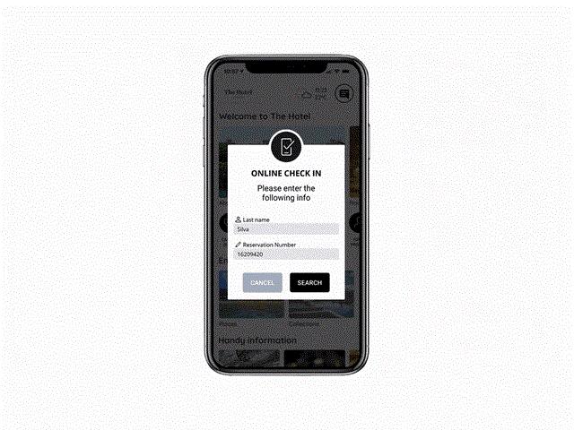 Online Check-in da B-Guest oferece integração com o aplicativo móvel dos hotéis