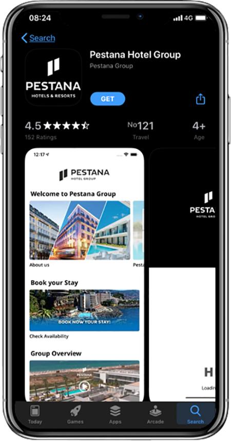 Nonius desenvolve aplicativo em parceria com o Pestana Hotel Group