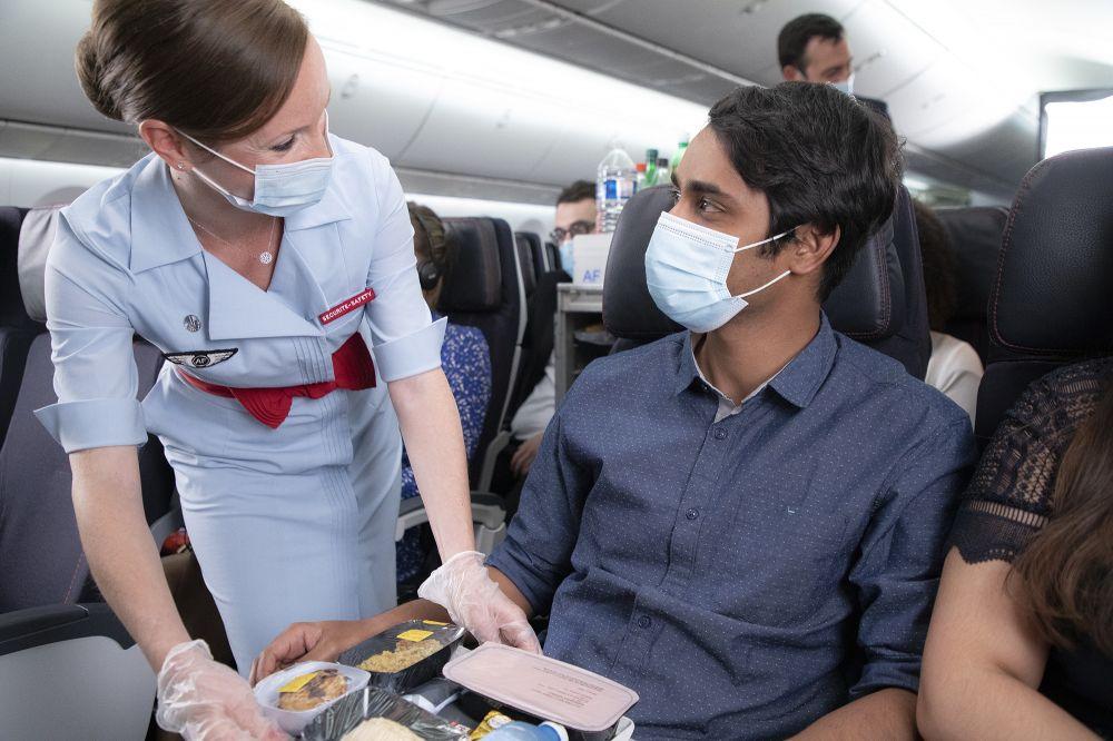 Air France expande oferta de comidas e bebidas a bordo