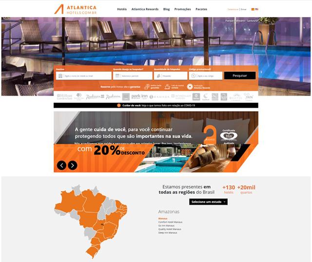 Atlantica Hotels aposta em nova logomarca e novo site