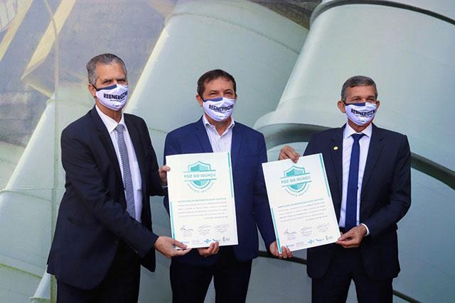 Complexo Turístico Itaipu recebe certificado sanitário
