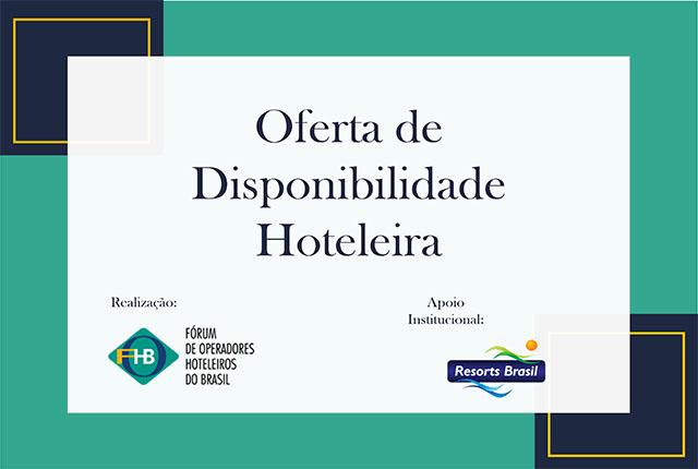 Estudo do FOHB aponta que 69% das UHs dos hotéis já estão abertas