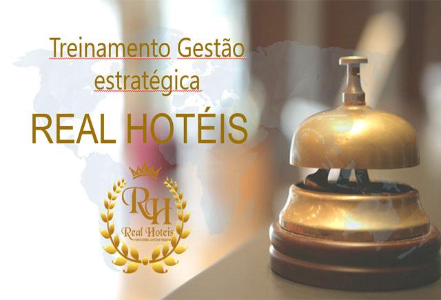 Real Hotéis promove curso de gestão estratégica na hotelaria